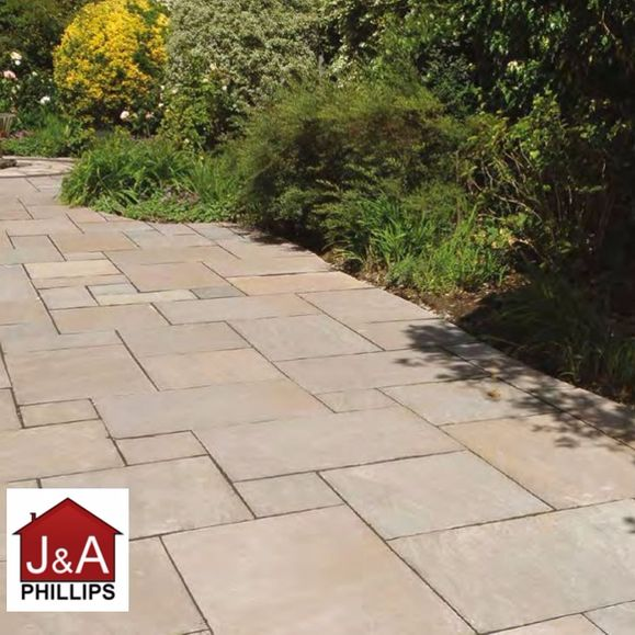 patio slabs, J & A Phillips, patio slabs for sale